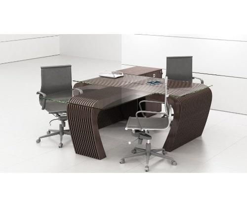 میز اداری سه نفره