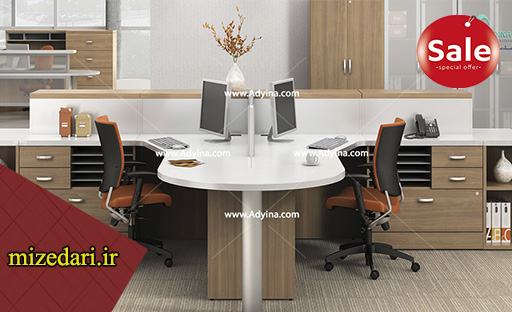 میز اداری کارمندی دو نفره
