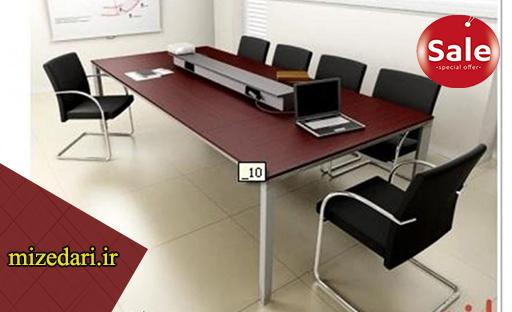 میز اداری چهار نفره