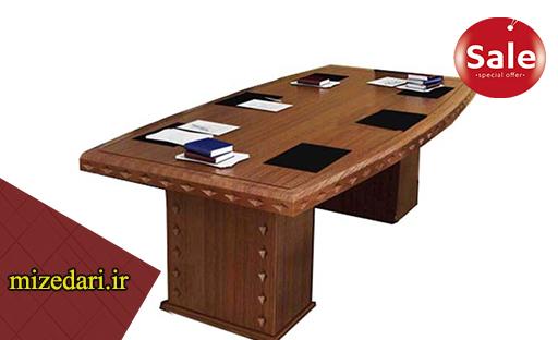 میز اداری چرمی