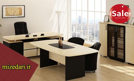 مرکز خرید عمده میز اداری مدیریت جوان