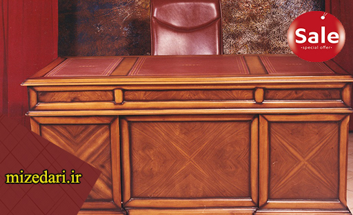 میز مدیریت تمام چوب