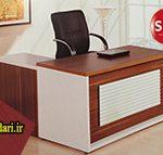 میز اداری مدیریت ساده