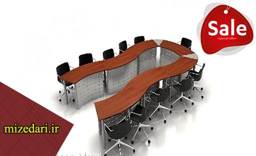 قیمت میز کنفرانس 8 نفره