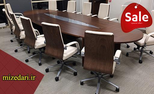 مدل میز کنفرانس اداری