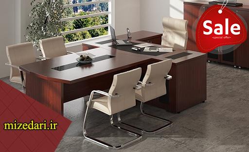 قیمت میز مدیریت ام دی اف