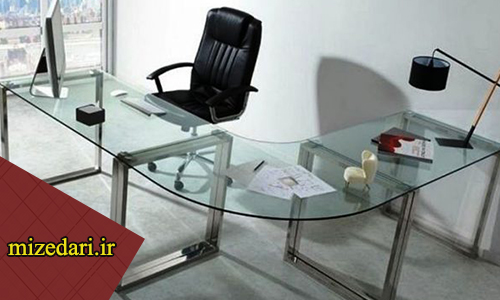 انواع میز شیشه ای اداری