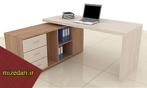 میز کار اداری ساده