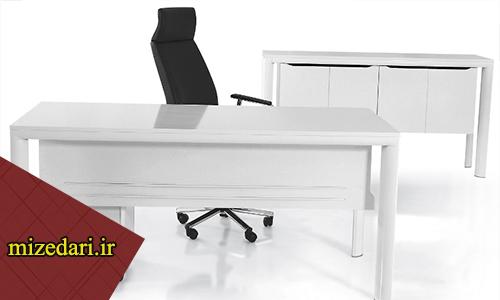 مدل میز اداری سفید