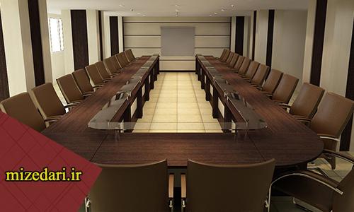 میز اداری یو شکل