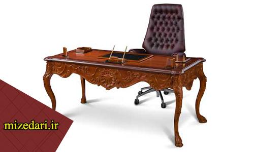 میز مدیریت کلاسیک ساده