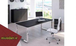 میز کارشناسی پایه فلزی