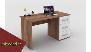 میز کارمندی چوبی